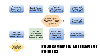Programmatic entitlement process